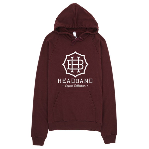 Headband California Fleece Pullover Hoodie