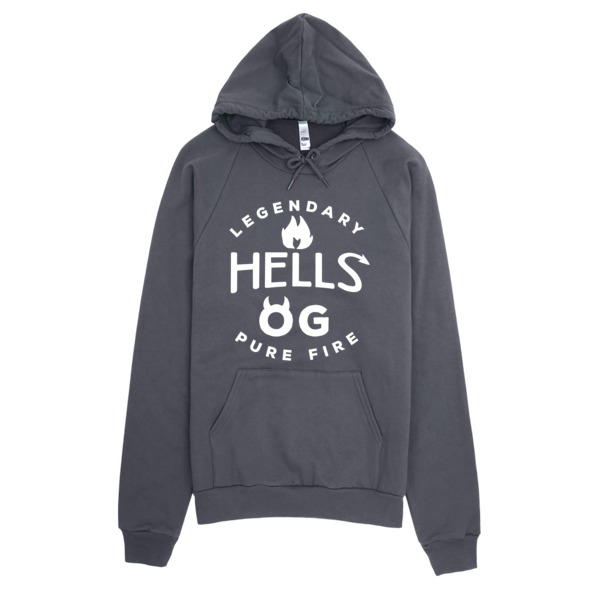Hells OG California Fleece Pullover Hoodie