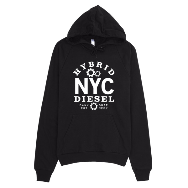 NYC Diesel California Fleece Pullover Hoodie