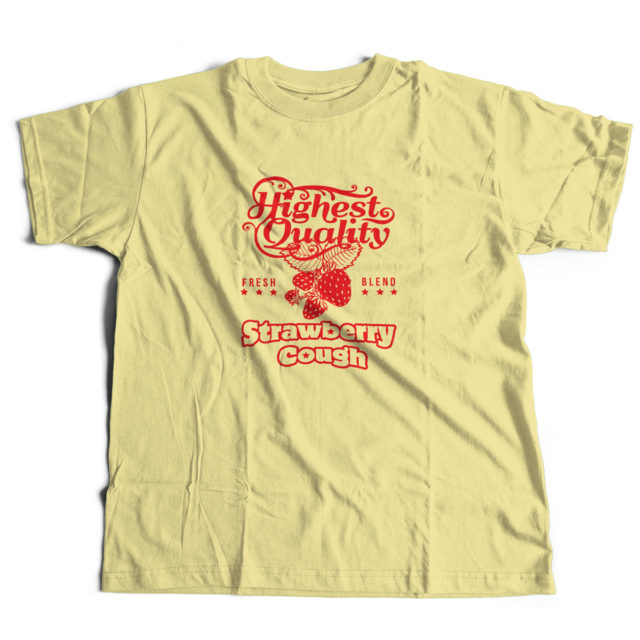 Strawberry Cough Cannabis T Shirt