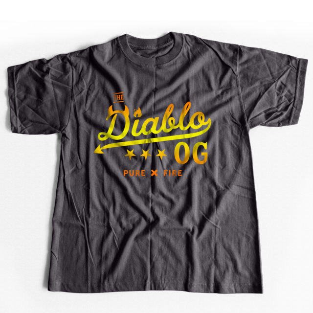 LIMITED EDITION: Diablo OG Cannabis T Shirt